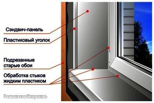 Отделка пластиковых окон своими руками    Металлопластиковые окна на сегодняшний день пользуются небывалым потребительским спросом. Они не дорогие, в сравнении с деревянными стеклопакетами, долговечны и хорошо изолируют помещение от посторонних звуков, пыли и ветра.    Но одной правильной установки пластиковых стеклопакетов недостаточно, зачастую настоящей проблемой для населения является оформление оконного проёма, то есть отделка откосов пластиковых окон. Многие прибегают к помощи…