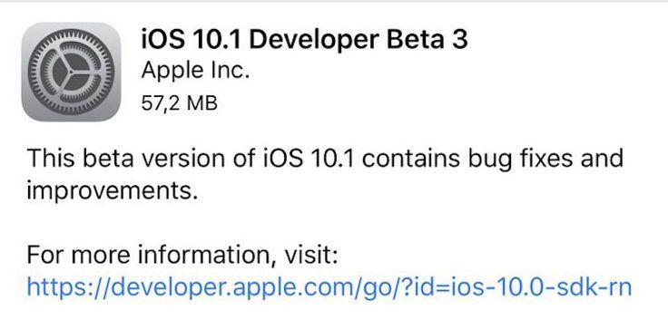 Apple lanza la tercera beta de iOS 10.1 con el modo retrato para el iPhone 7 Plus - http://www.actualidadiphone.com/apple-lanza-la-tercera-beta-ios-10-1-modo-retrato-iphone-7-plus/