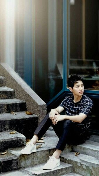 Song Joong Ki, for Harpers Bazaar Korea, May 2016 Issue
