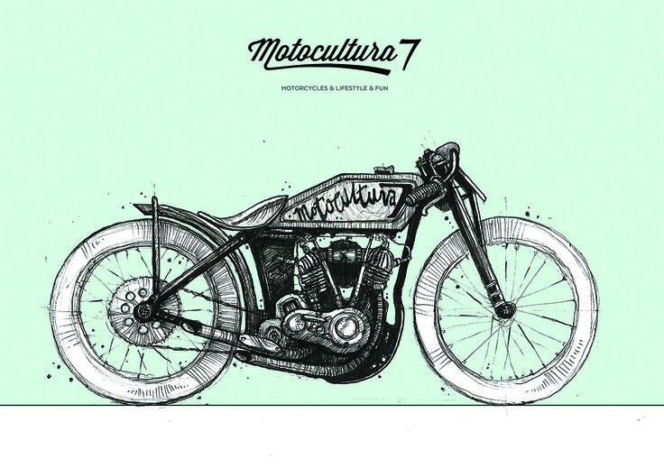 Vintage motorcycle Motocultura7