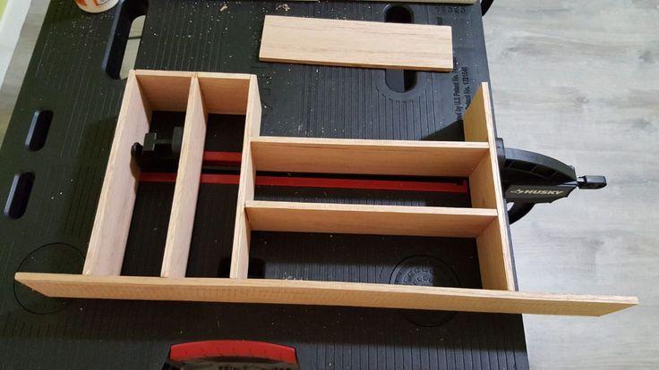 besteckkasten f r schublade selbst bauen mit checkliste basteln wohnung. Black Bedroom Furniture Sets. Home Design Ideas