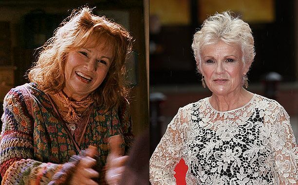 Harry Potter Where Are They Now Julie Walters Fred And George Weasley Scarlett Byrne