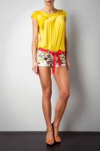 Printed Short - WOMAN - COLLECTIONS - NEW ARRIVALS MAY SPRING/SUMMER - Gaudì