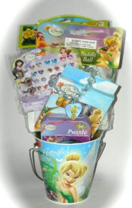 151 best easter basket images on pinterest pre made easter basket for girls disney tinker bell and fairies easter basket at negle Image collections