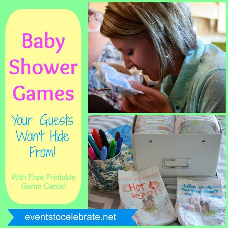 Fun Baby Shower Games
