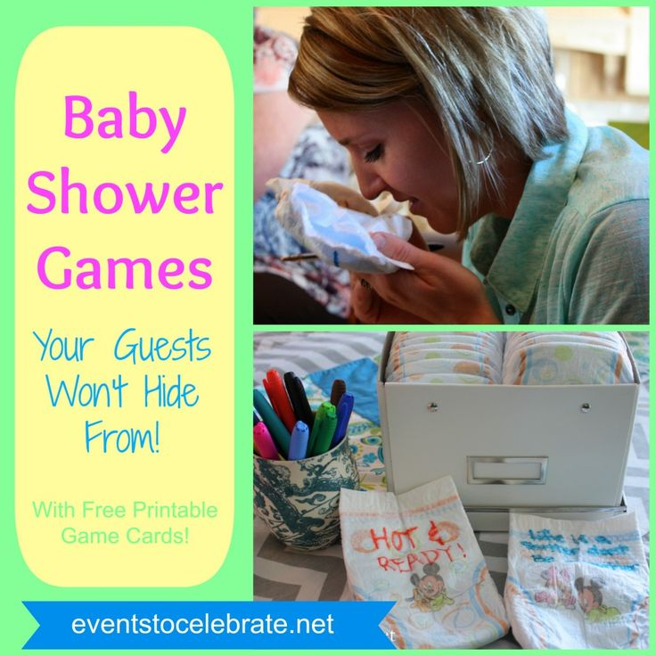 Awesome Baby Shower Games - Events To Celebrate