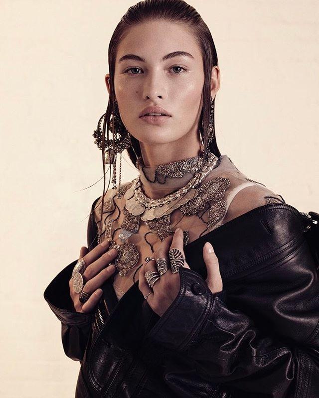 Goths arise! Model: @LoveGrace_E Photo: @PaolaKudacki Style: @NatashaRoyt./ В этом сезоне надевайте массивные металлические кольца сразу на все пальцы а серьги и колье выбирайте по мотивам готических сказок.  via VOGUE RUSSIA MAGAZINE OFFICIAL INSTAGRAM - Fashion Campaigns  Haute Couture  Advertising  Editorial Photography  Magazine Cover Designs  Supermodels  Runway Models