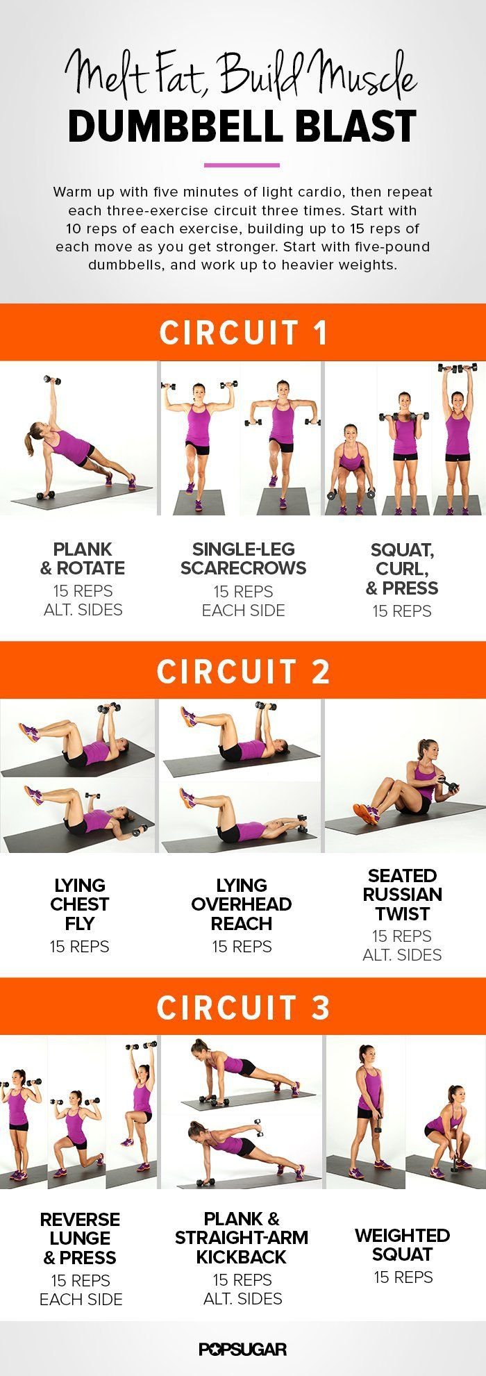 Maximise Your Workout Results With Our Printable Dumbbell Workout