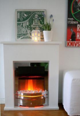falscher kamin deko kamin kamin attrappe home pinterest fireplace mantles and mantle. Black Bedroom Furniture Sets. Home Design Ideas