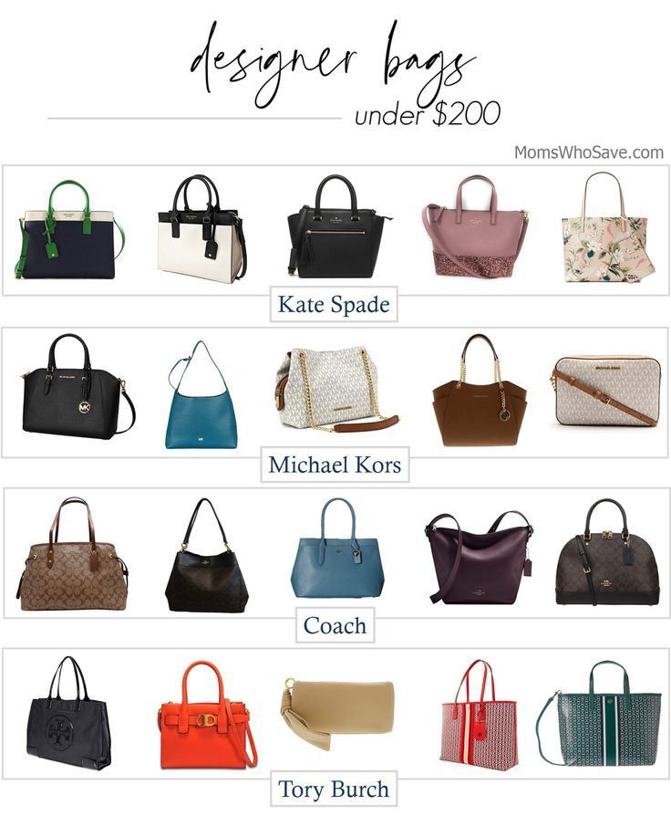 Designer Handbags All Under 200 In