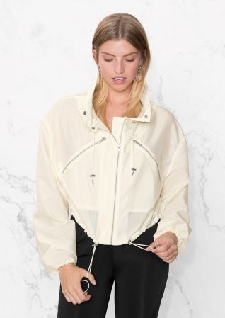 & Other Stories | Cropped Windbreaker
