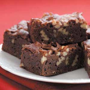 """These are Thomas' Favorite Brownies.  I always double the recipe and put them in an 8"""" pan.  I also cover them with foil lightly so the marshmallows don't burn.  Finally, this image is not what they look like, I have always wondered why they have the wrong image posted on the site."""