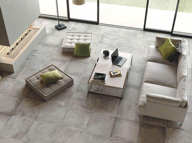 Extrêmement Les 25 meilleures idées de la catégorie Carrelage beton sur  WC78
