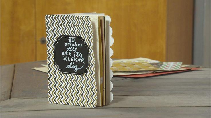 Vänskapsbok eller kärleksbok. Personliga gåvor är bland det bästa som finns. Nu är det dags att berätta åt dem vi tycker om varför vi gör det!