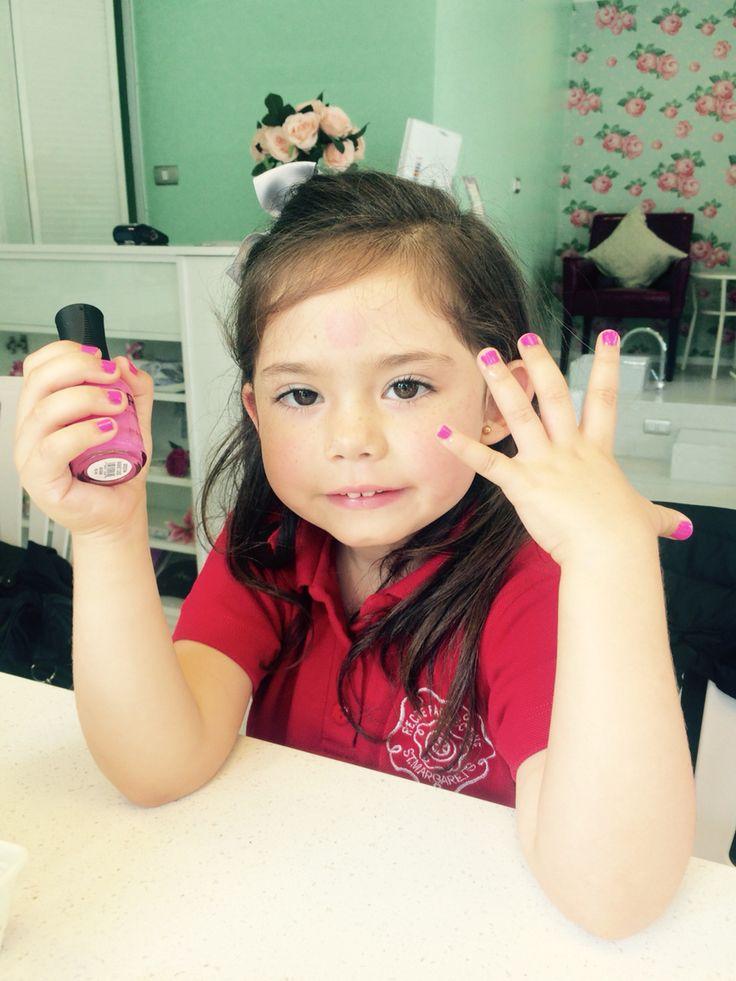 #Niñas #Beautyonthemove #Manicure #KIDS