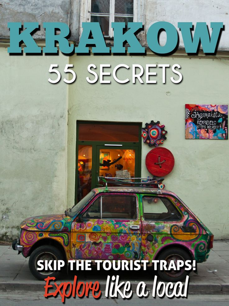 Krakow 55 Secrets Explore the best kept Secrets of Krakow : Poland best city!