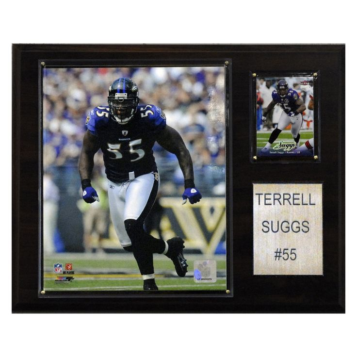 3ce38a101 Terrell Suggs Baltimore Ravens Player Plaque - 1215SUGGS Nike Mens Alternate  Game Jersey Baltimore Terrell Suggs 55 Products ...