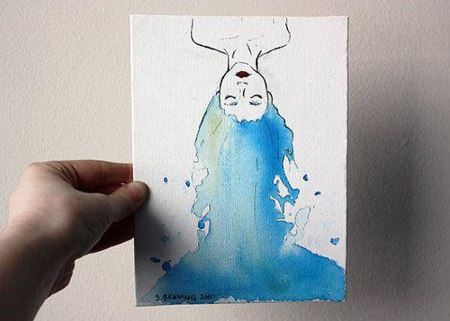 Desenho Aquarela