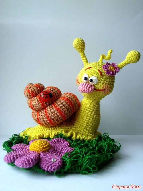 25+ best ideas about Crochet Snail on Pinterest Crochet ...