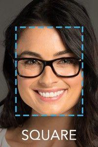 woman's square face  beauty  pinterest  shape