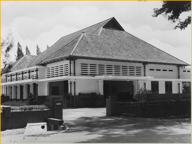 Rumah dinas walikota Surabaya 1954