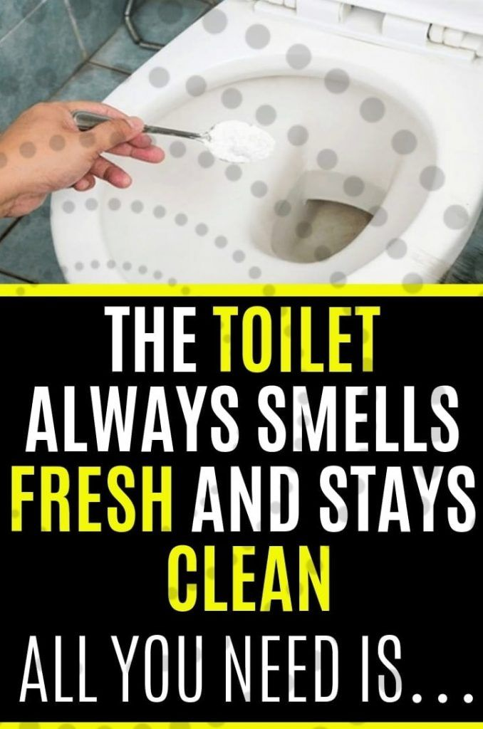 The Toilet Always Smells Fresh And Stays Clean All You Need Is Smell Fresh Cleaning Homemade Toilet Cleaner