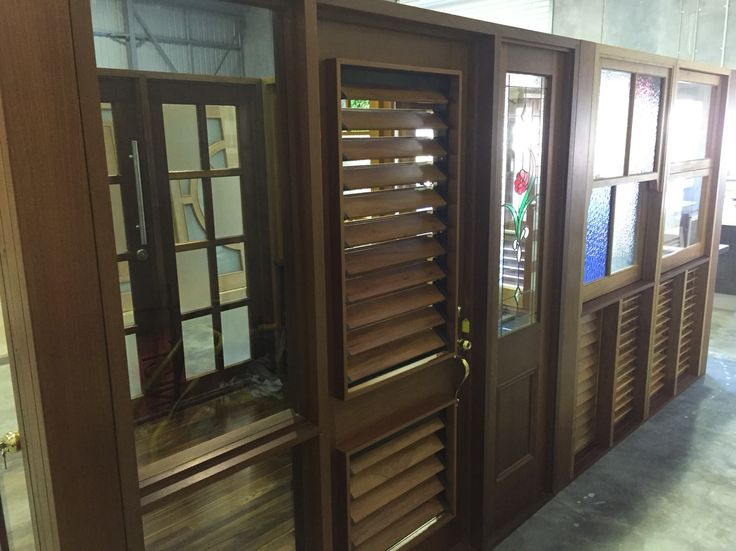 Timber Joinery windows and louvres