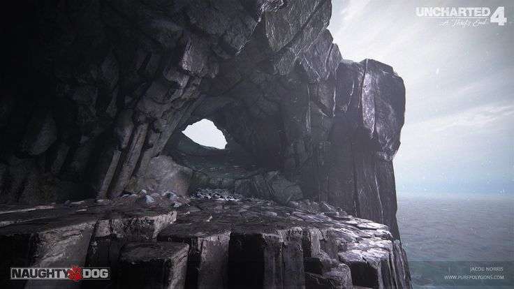 Uncharted 4 - Scotland Escape, Jacob Norris on ArtStation at https://www.artstation.com/artwork/QEQPl