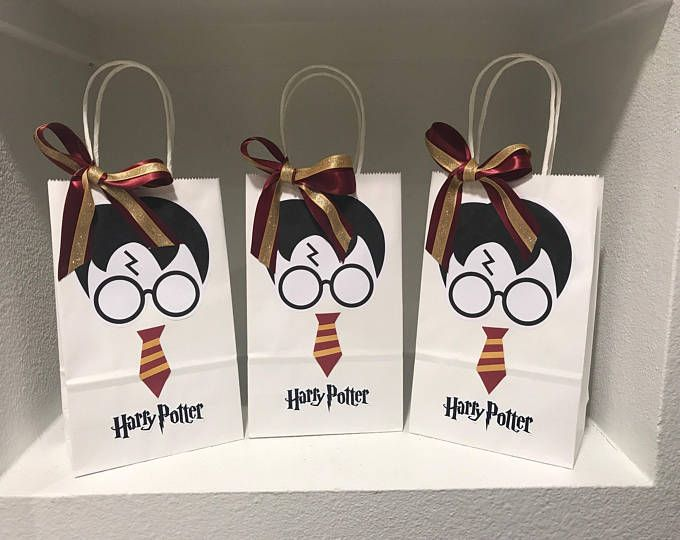 Pack of 5 Party Bag Fillers Harry Potter Bookmarks Favors