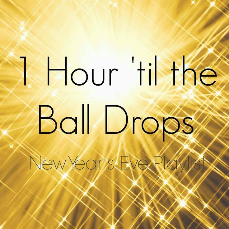 "Our Mini Family: ""1 Hour 'til the Ball Drops"" New Year's Eve Playlist!"
