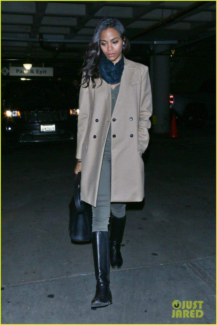 Zoe Saldana & Marco Perego: Beyonce Concert Date Night!