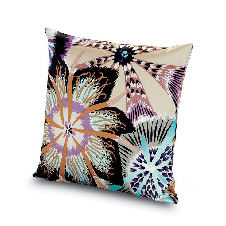 Discover the Missoni Home Passiflora Giant Cushion - 170 - 40x40cm at Amara