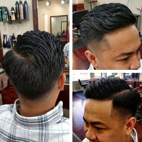 Classic Tapered Haircut For Men