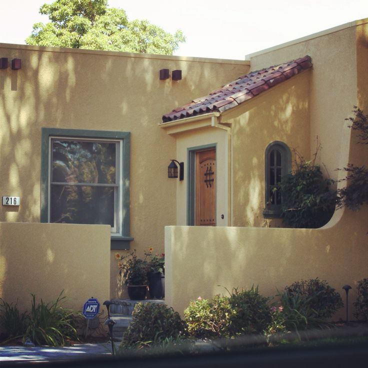 1000 Images About Spanish Style Patio And Exterior Paint Ideas On Pinterest