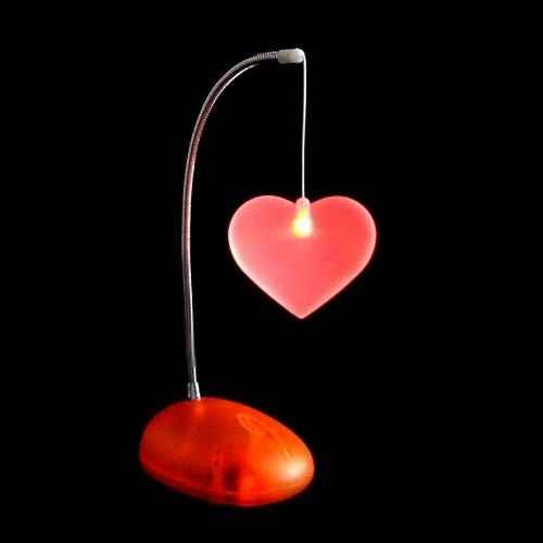 Heart   Shaped Lamp For Valentineu0027s Day