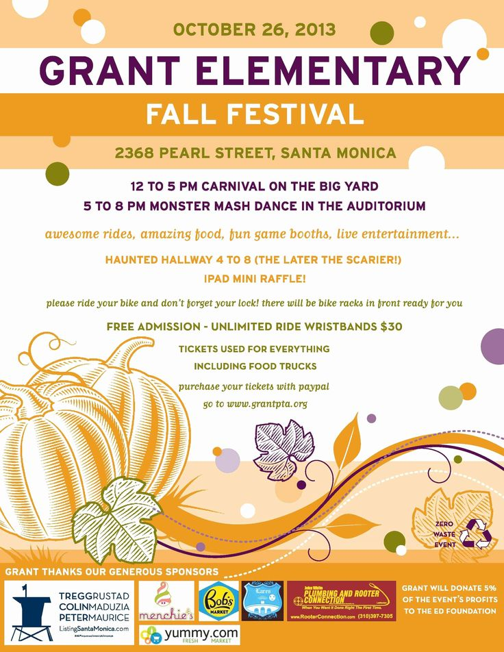 fall festival flyers templates best of fall festival flyer
