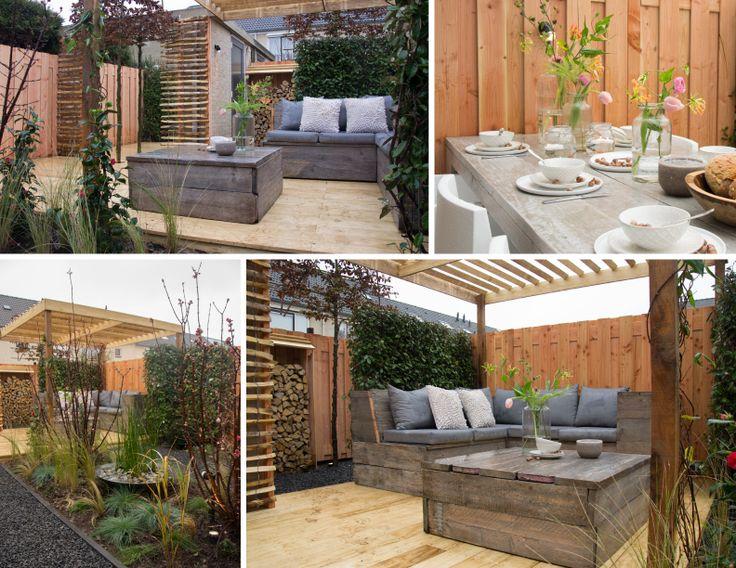 Eigen huis tuin hollands ibiza stijl tuin in lite scope lounge in lite in eigen - Moderne stijl lounge ...