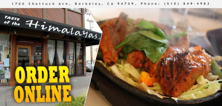 Taste of the Himalayas - Berkeley - CA - 94709 - Menu - Healthy, Indian - Online Food Delivery Catering in San Francisco