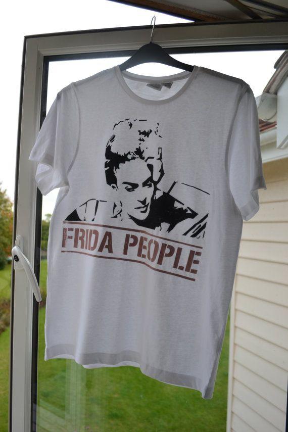 Frida People Etsy Original T-Shirt by TheFractal