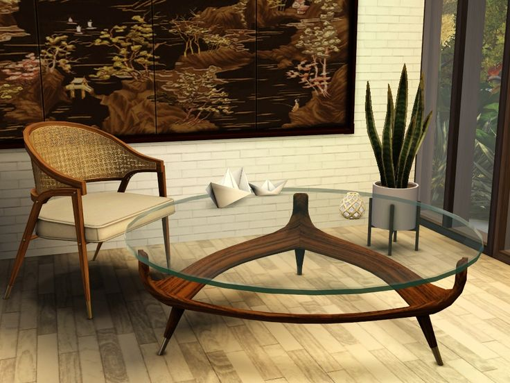 gelina 39 s downloads triangle coffee table s3 furniture tables pinterest triangles and sims. Black Bedroom Furniture Sets. Home Design Ideas