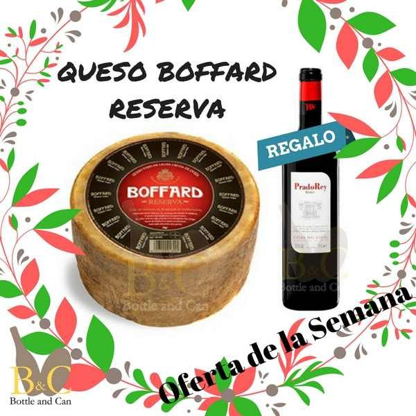 ¡¡ OFERTA DE LA SEMANA !! La OFERTA comprende 1 Queso BOFFARD Reserva 3 kgr. aprox.+ REGALO 1 Botella de Vino PRADOREY Tinto Roble 75 cl. http://tienda.bottleandcan.es/es/  Válida hasta el Domingo 02/04/2017 o hasta Fin de Existencias.  #Tiendaonline #gourmet #bottleandcan #Granada #andalucia #españa #spain #oferta #regalo