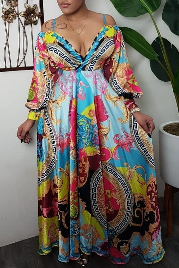 41+ Multi color maxi dress info