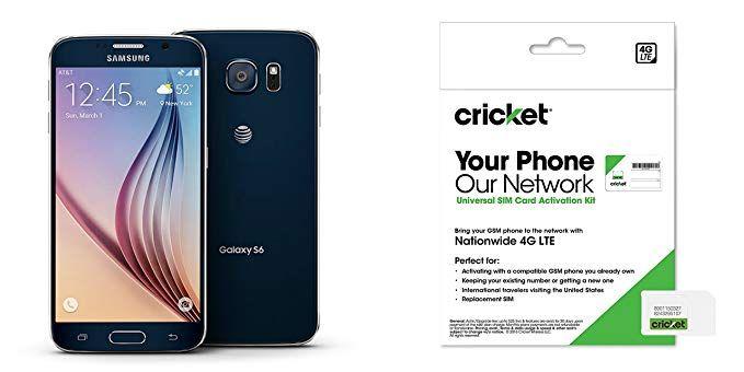 Galaxy S6 Black Sapphire 32gb For Cricket Wireless Review Cricket Wireless Galaxy Galaxy S6