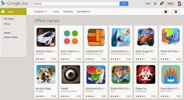 AdiccionWeb: Juegos Offline en la tienda Google Play