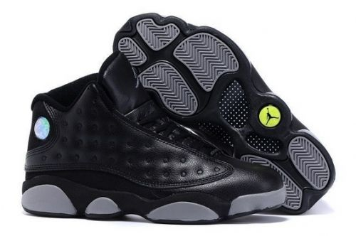 f5b397f3e433 Latest Air Jordan 13 Doernbecher Black and Grey - Mysecretshoes ...