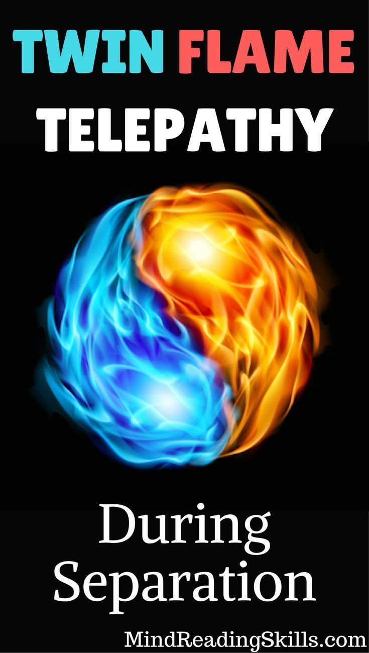 Twin flame telepathy during separation is real! Learn how to