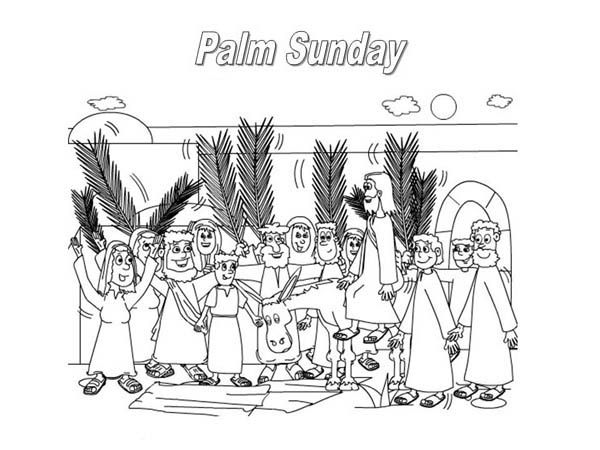 Palm Sunday The Feast Commemorates Jesus Triumphal Entry Into