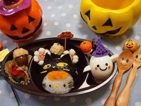 ハロウィン★茹で玉おばけちゃん弁当|レシピブログ