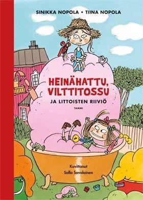 Nyt juhlitaan: ensimmäisen Heinähattu ja Vilttitossu -kirjan ilmestymisestä on jo 25 vuotta!  Juhlavuoden kunniaksi yksi sarjan suosituimmista kirjoista julkaistaan uutena laitoksena, jossa on Salla Savolaisen ihastuttava nelivärikuvitus.