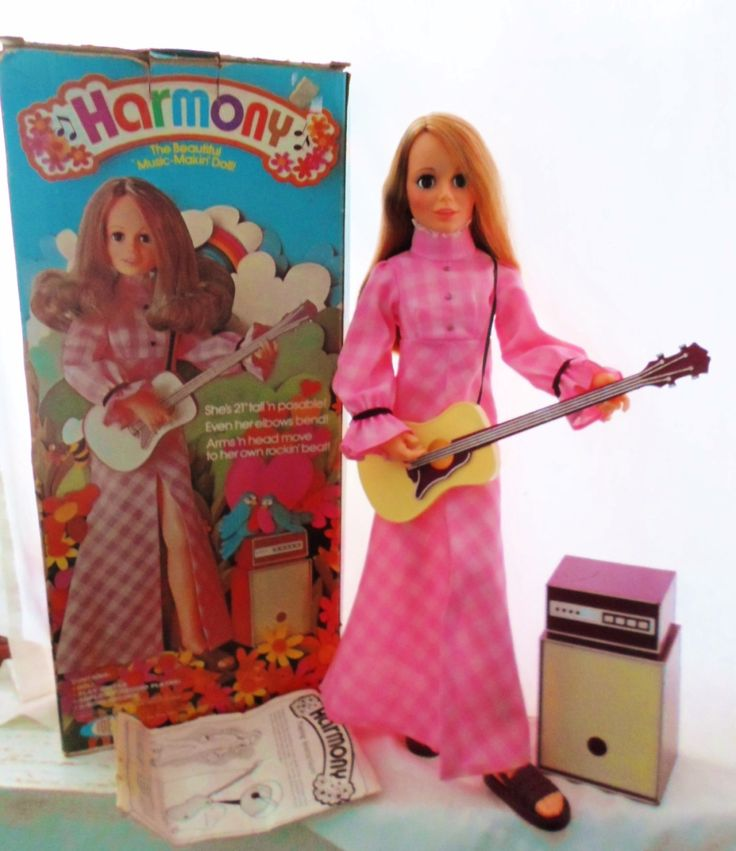 Vintage 1972 Ideal Harmony Doll Original Box by DebscountryVintage